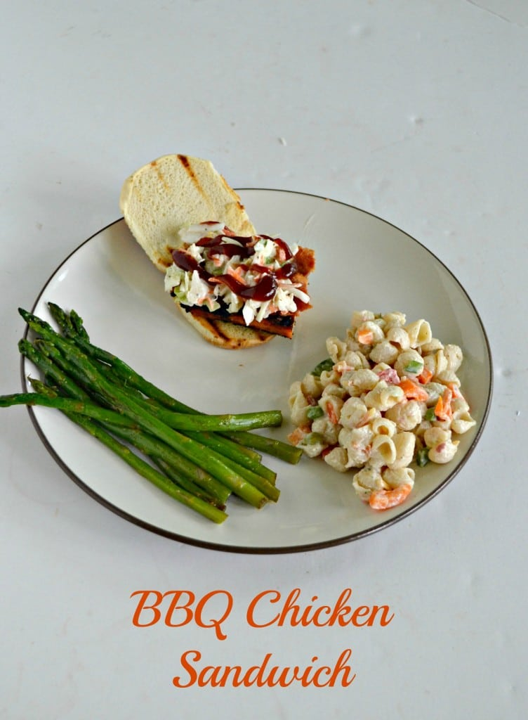 Bite into a BBQ Chicken Slider topped with Bacon and Cole Slaw!