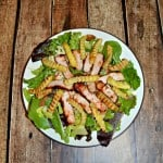 Grilled BBQ Pork Salads with Fries #CookoutWeek