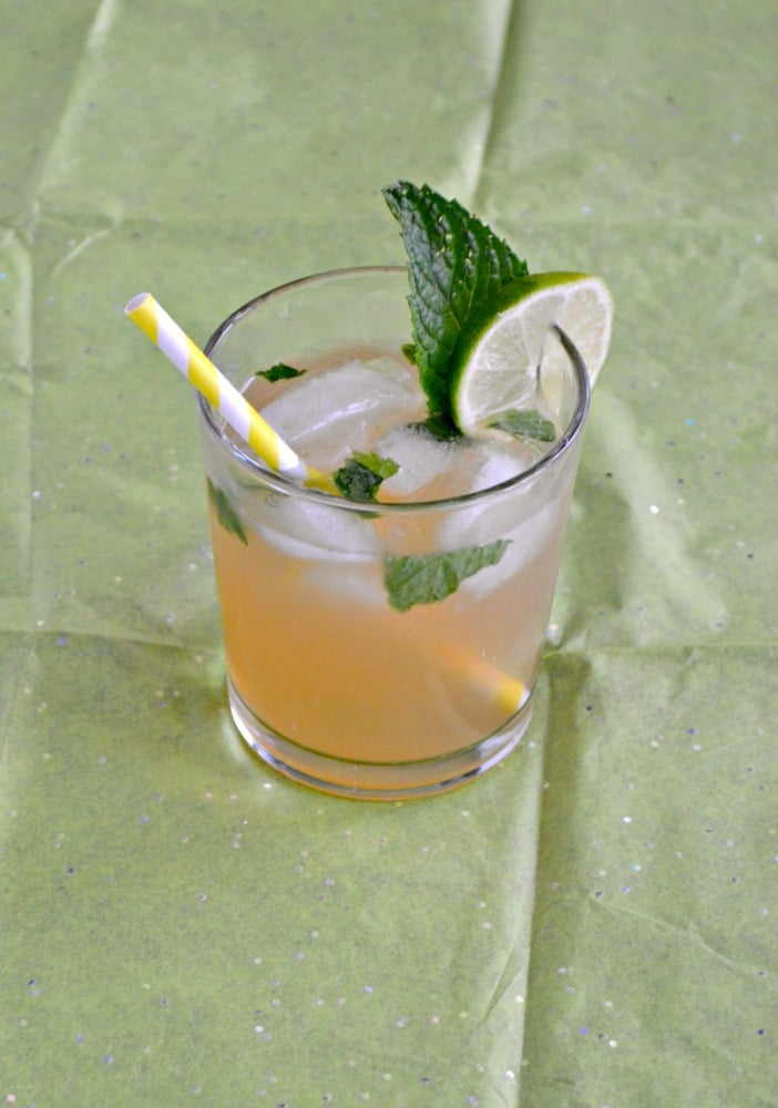 Ever had a Moscow Mule? If not grab yourself some ginger beer, a lime, and mint and get to making one!
