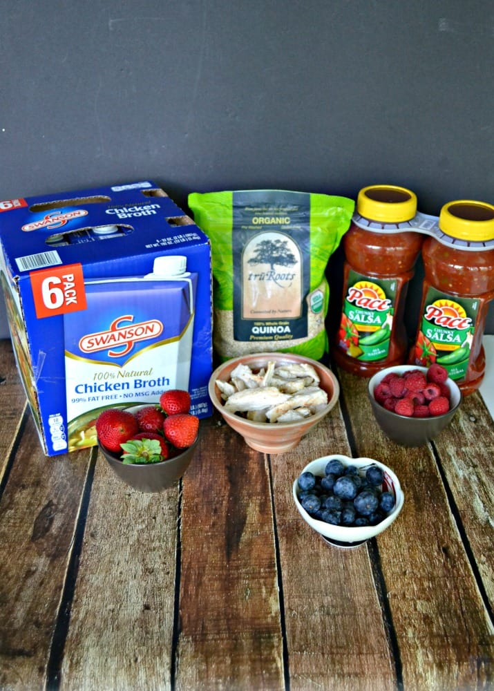 All the ingredients you need for a fun Summer Block Party!