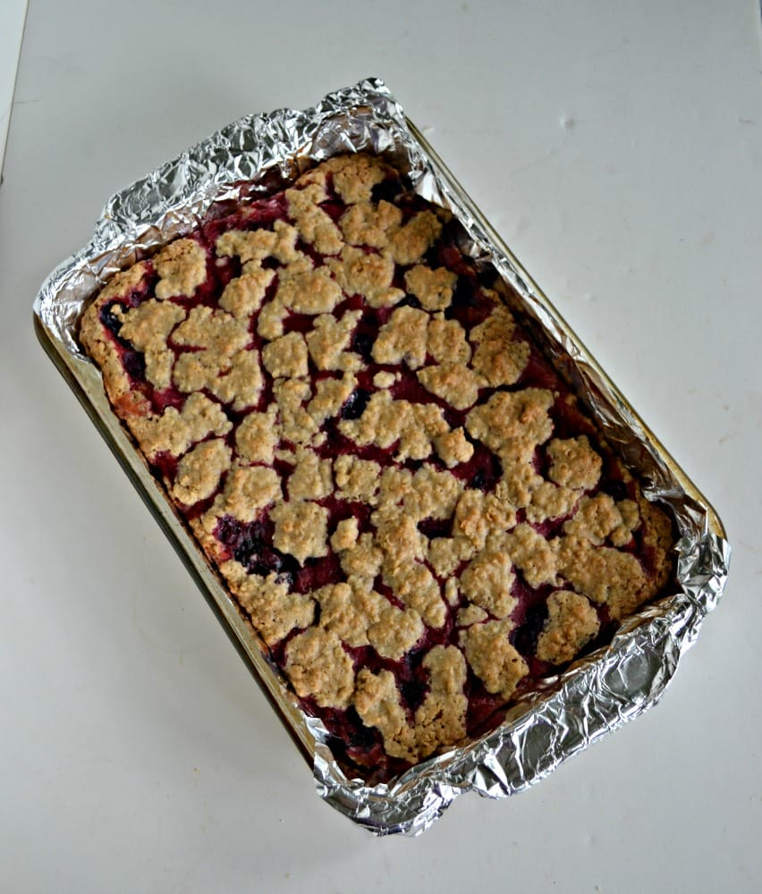 Berry Crumble Bars are my new favorite bars!
