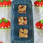 Berry Rhubarb Bars for What's Baking?