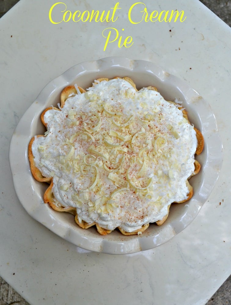 The Best Coconut Cream Pie to celebrate Father's Day!