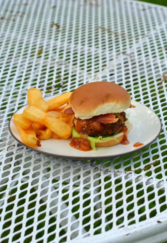 One bite and you'll love these Bourbon BBQ Bacon Burger Sliders!