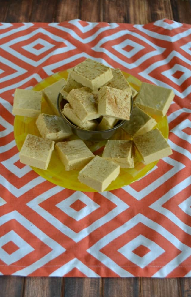 You won't be able to eat just one piece of this Old Fashioned Pumpkin Fudge