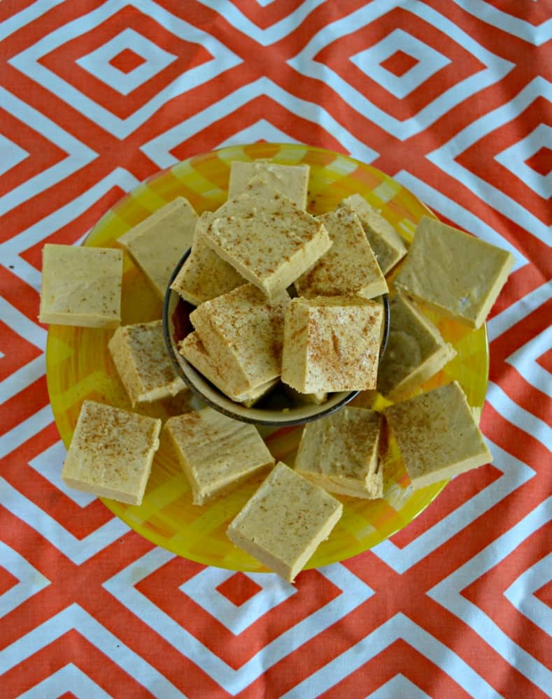 Melt in your mouth Old Fashion Pumpkin Fudge is made on the stove top with a candy thermometer.