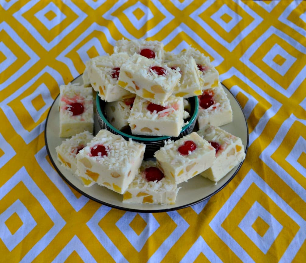 This tasty Pina Colada Fudge takes just minutes to make!