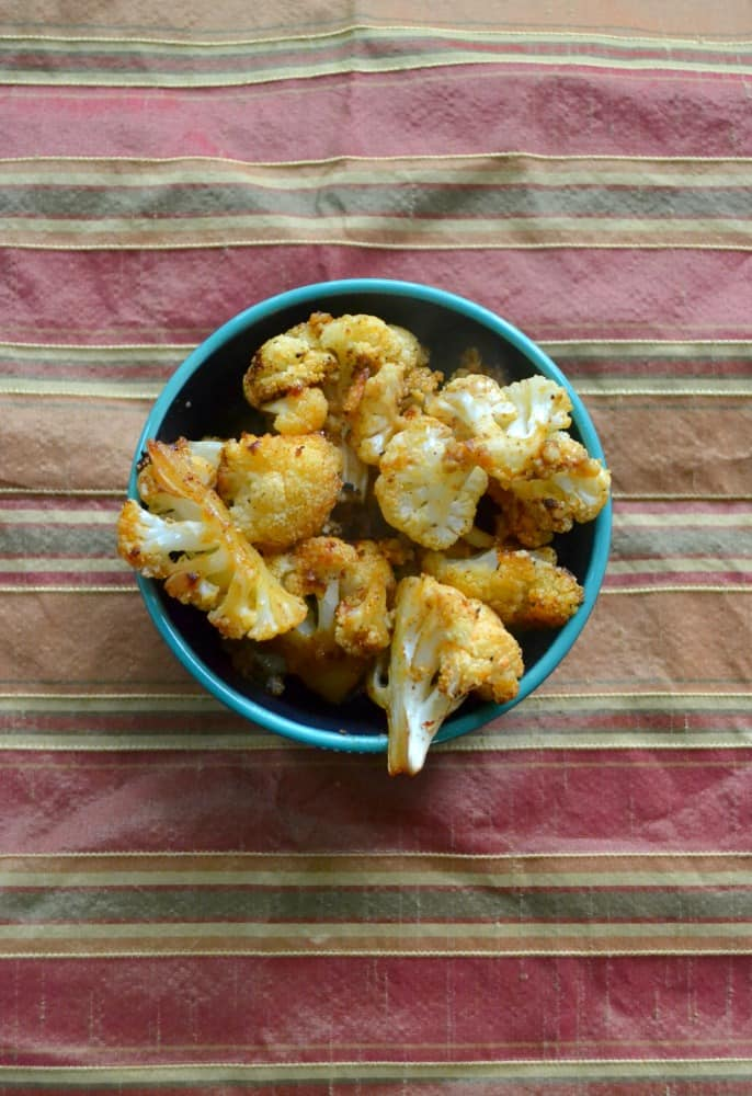 Smokey Roasted Cauliflower is a flavorful side dish to any meal!