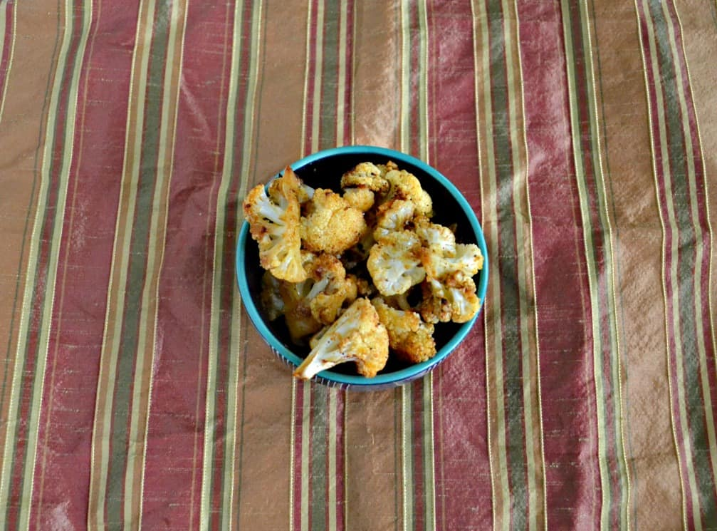 Try this Smokey Roasted Cauliflower as a side dish