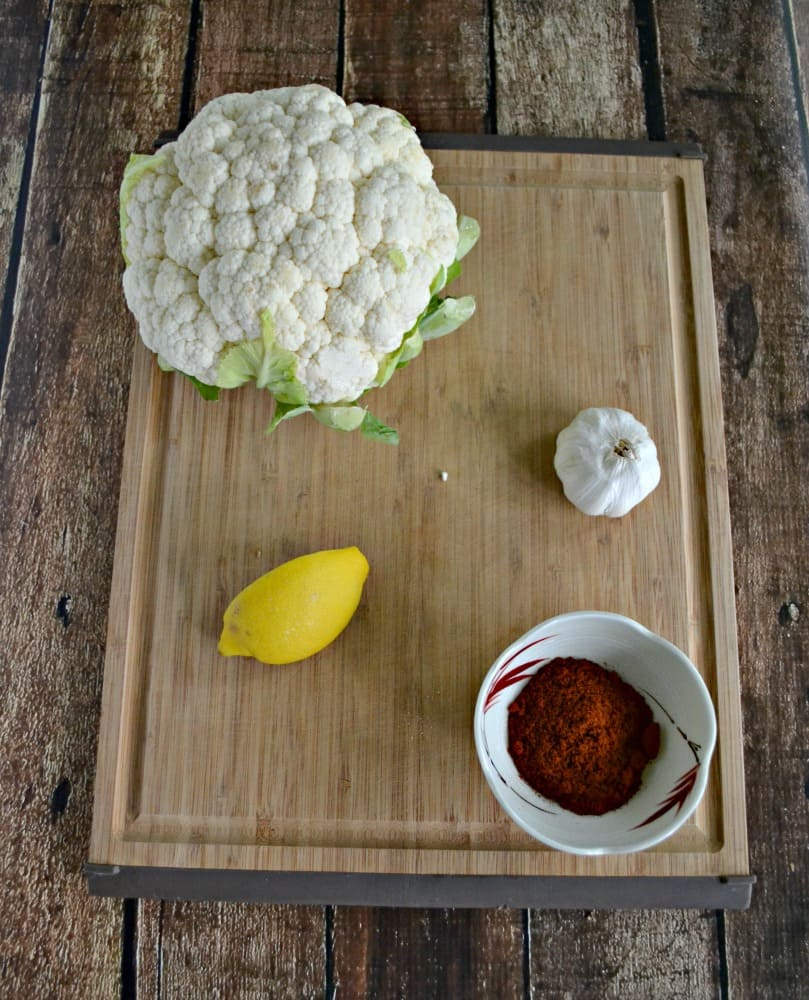 Just a handful of ingredients make a delicious Smokey Roasted Cauliflower
