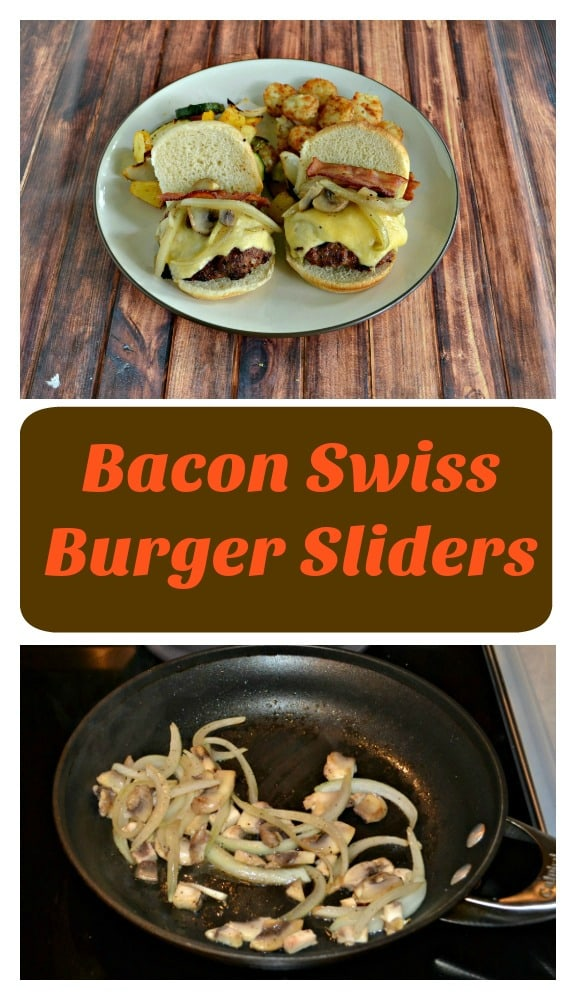 These Bacon Swiss Burger Sliders are great for Game Day or other gathering
