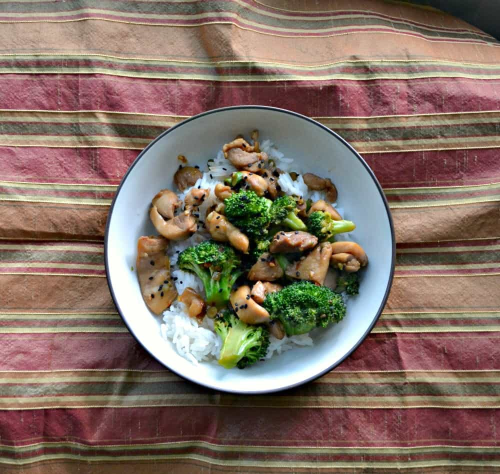 Try these Chicken Thighs and Broccoli with Sesame Ginger Glaze