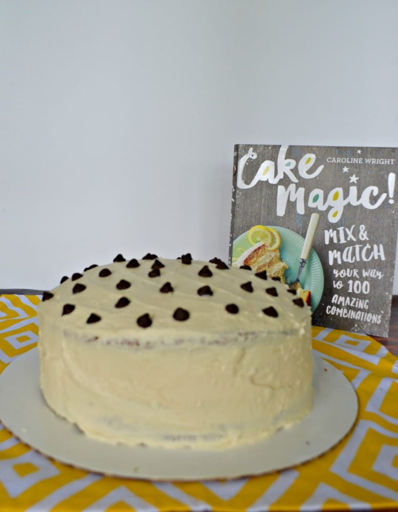 Make this amazing Dream Cake from Cake Magic! by Caroline Wright