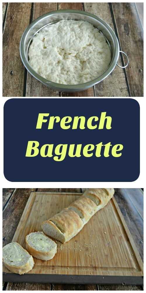 It only takes a few steps to make a delicious French Baguette