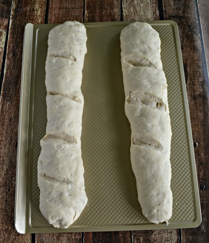 One recipe makes two delicious French Baguettes! Keep one and share wone with your friends.