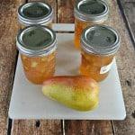 Pear Ginger Jam #SundaySupper