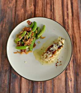 Peas with Bacon and Crispy Onions #SundaySupper