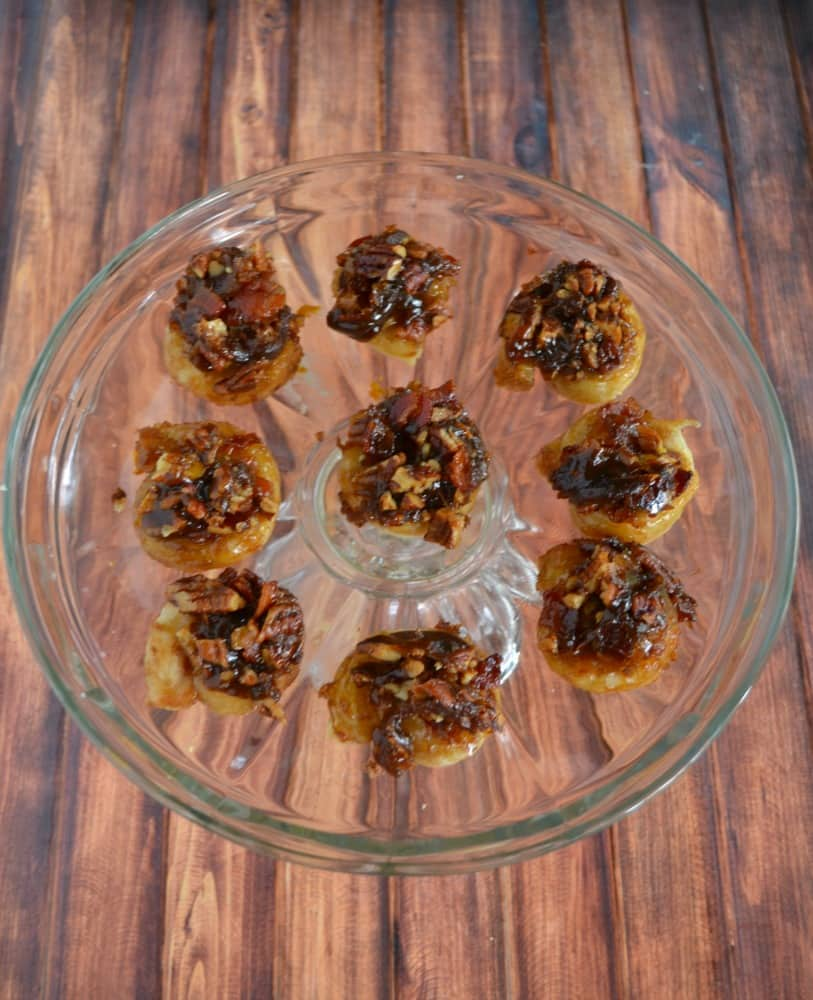 It's hard to eat just one of these sweet and salty Bacon Pecan Sticky Buns!