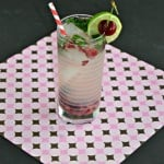 Sip on this refreshing Cherry, Berry Mojito to cool off
