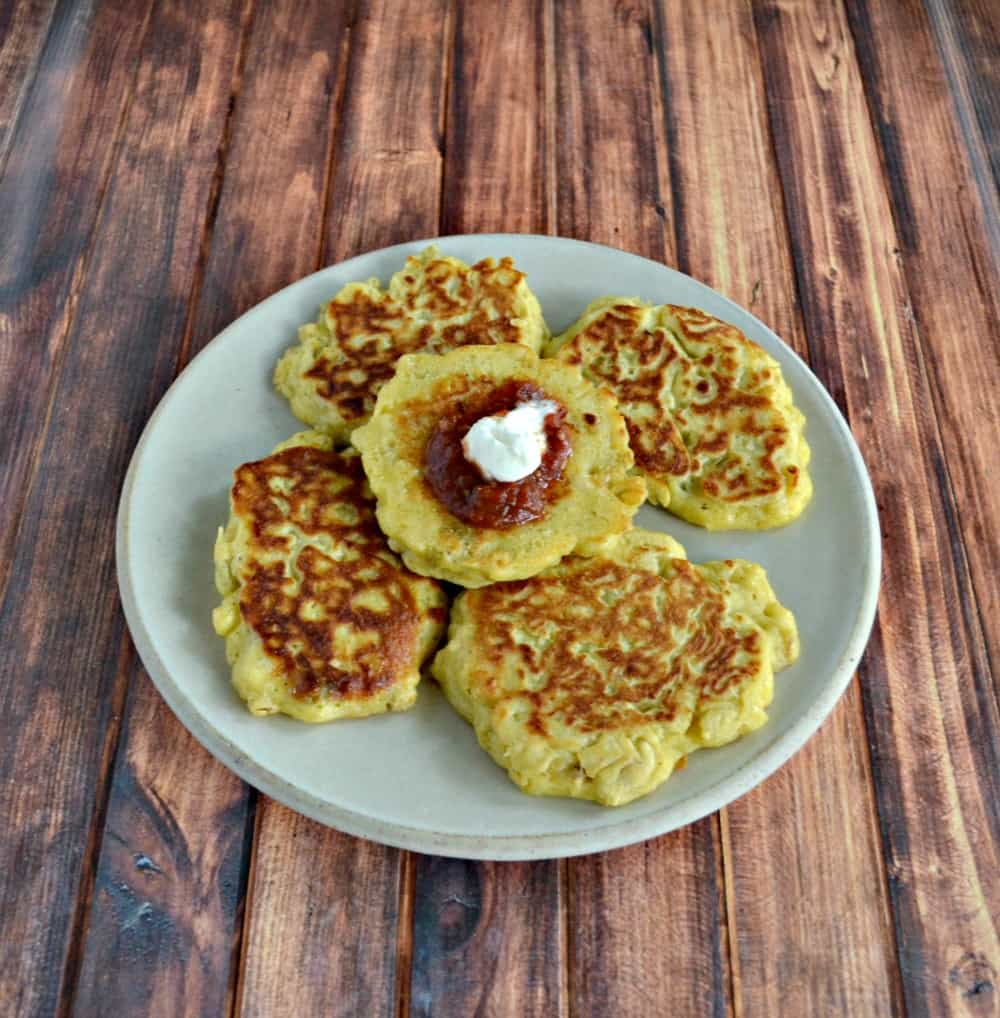Try these tasty Corn Cakes for a great late summer side dish