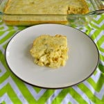 Corn Pudding with Jalapenos and Chiles #SundaySupper