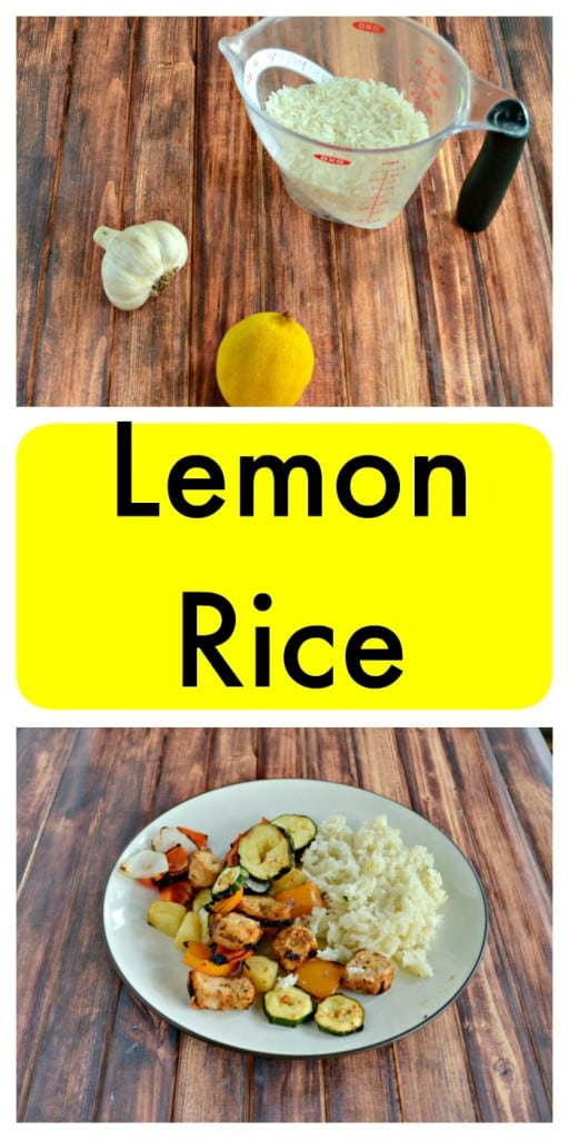 This bright Lemon Rice is a delicious side dish!