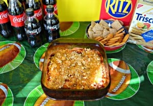Love this easy to make and delicious BBQ Chicken Dip!