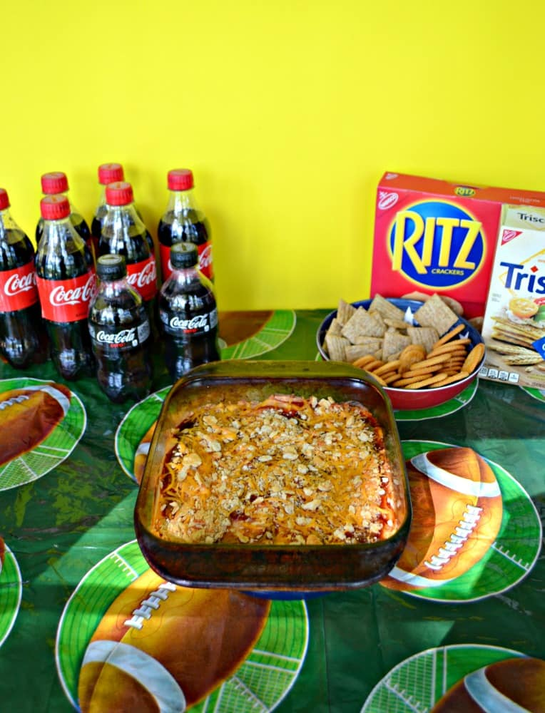 Get ready for Game Day with BBQ Chicken Dip