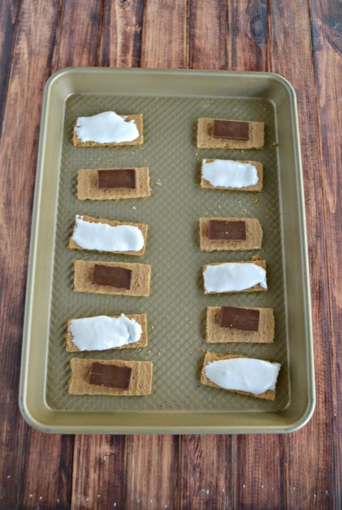 It's so easy to make these Chocolate Covered S'mores