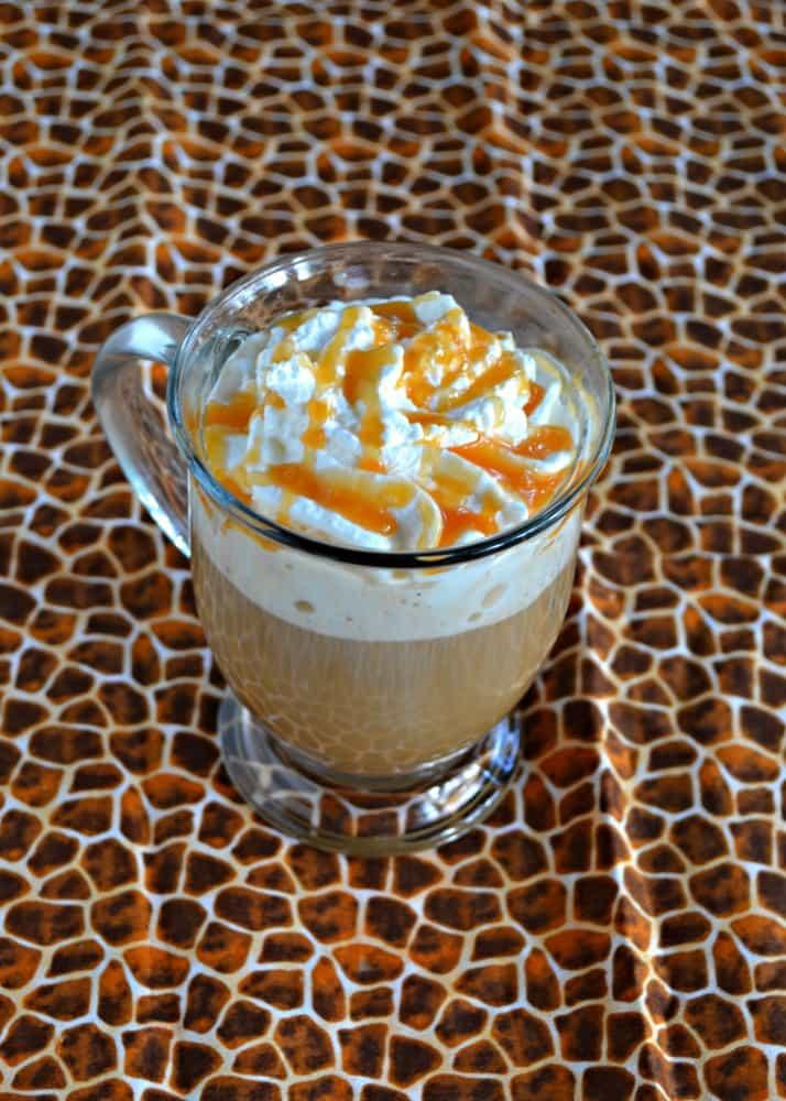 Sip on a homemade Caramel Vanilla Latte