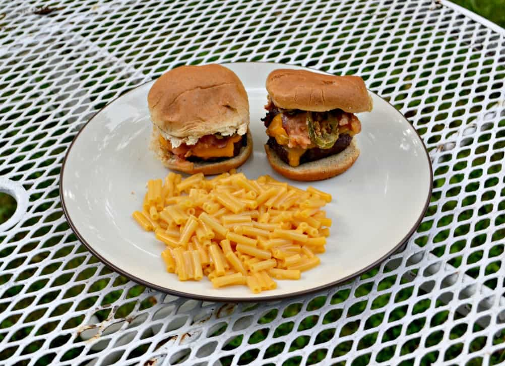 Sink your teeth into these incredible Jalapeno Popper Burgers!