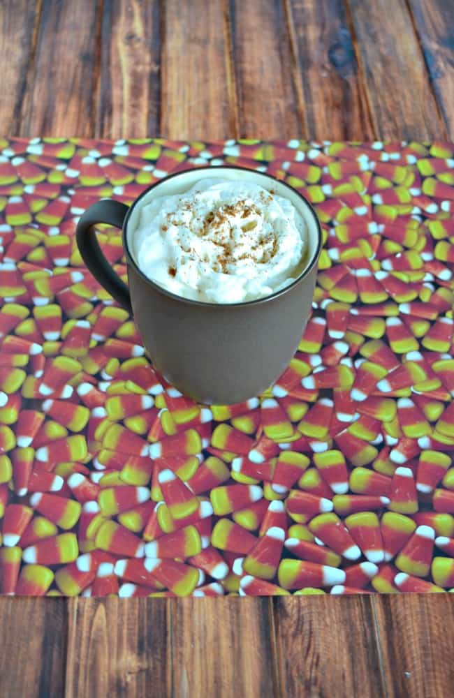 Try this delicious Slow Cooker Pumpkin Spice Latte spiked with Rum Chata