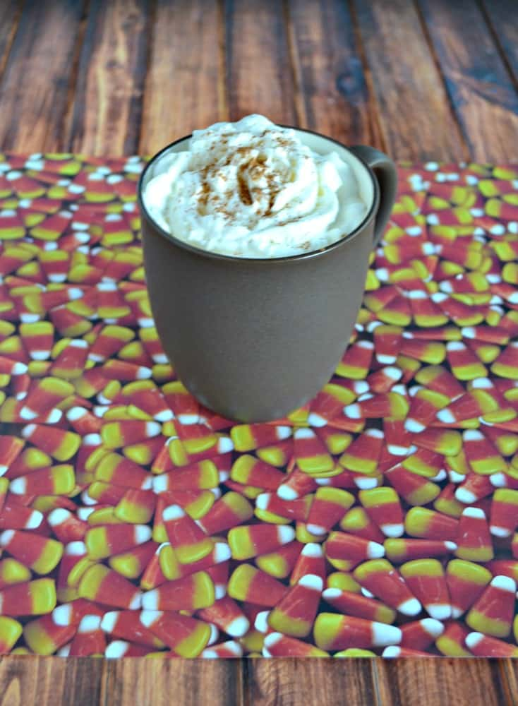 Love this Slow Cooker Pumpkin Spice Latte with Rum Chata