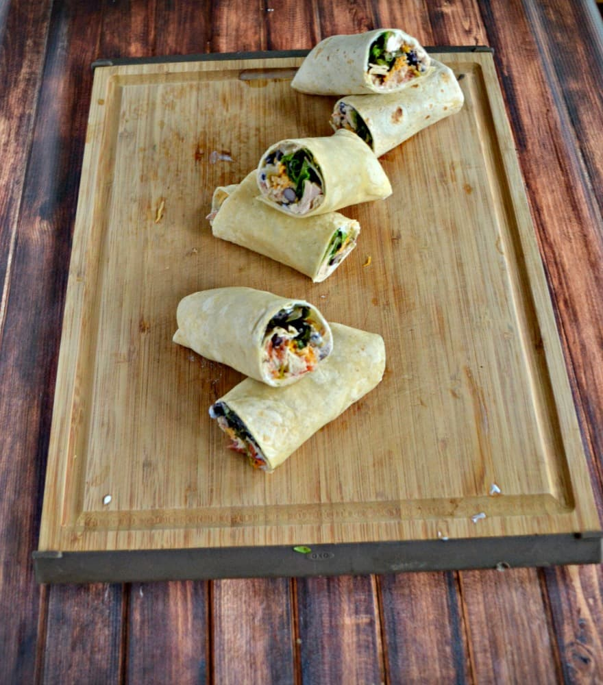 Love these easy to make Southwestern Tuna Wraps