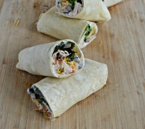 Southwestern Tuna Wraps are great for lunch or dinner