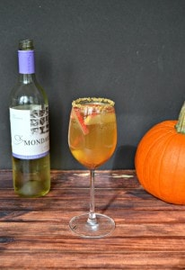 Grab your girlfriends and make a pitcher of this delicious Caramel Apple Sangria!
