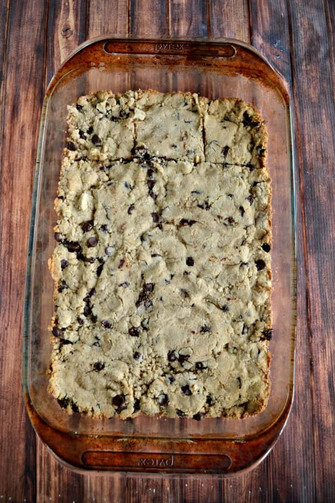 Love these delicious Gluten Free Chocolate Chip Cookie Bars