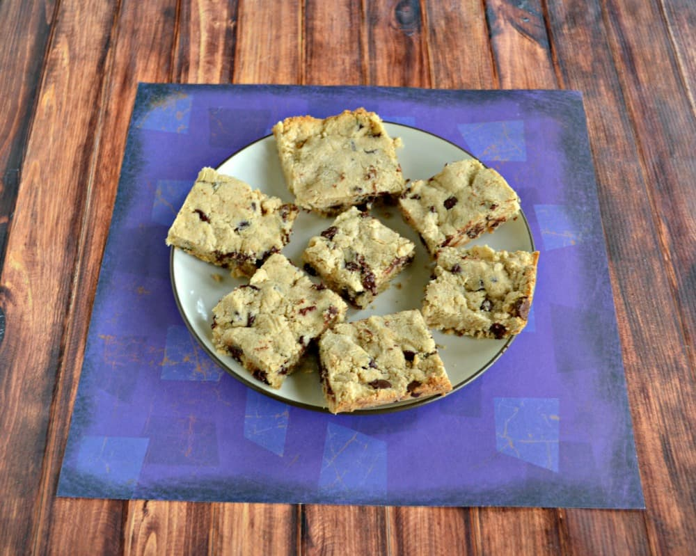 Bite into the delicious flavor of these Gluten Free Chocolate Chip Cookie Bars