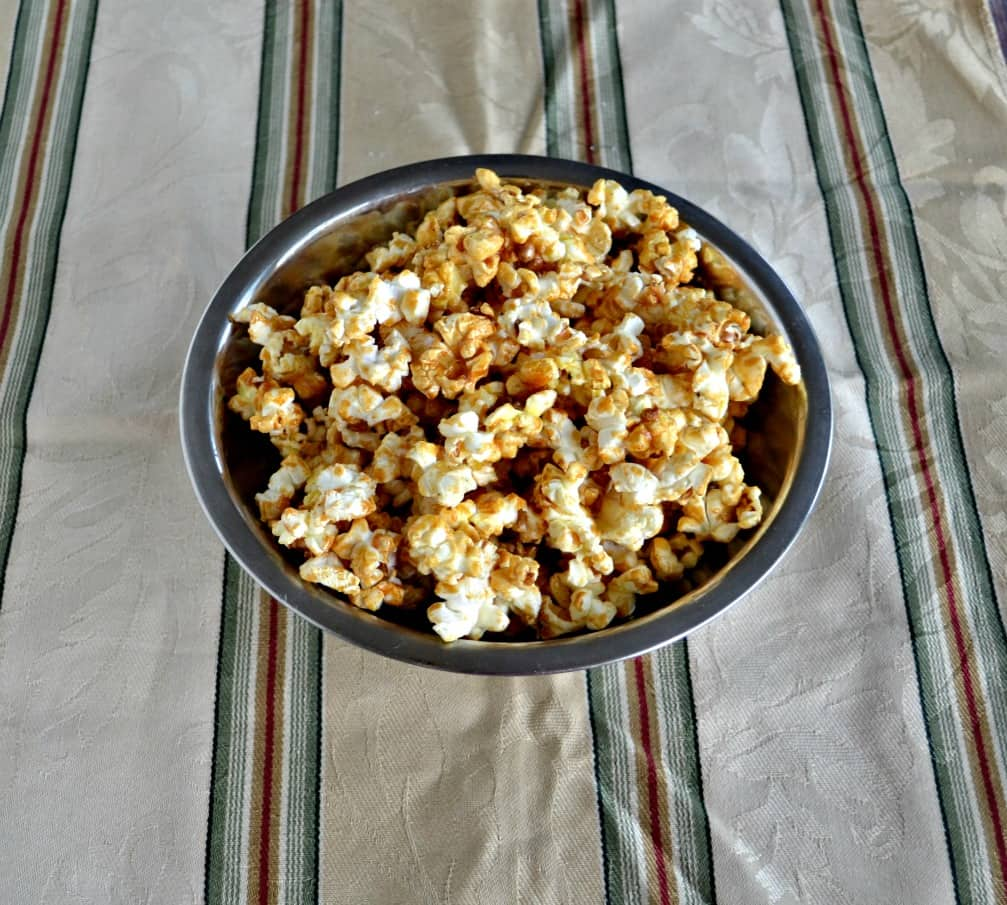 Try this amazing Hot Toddy Caramel Corn!