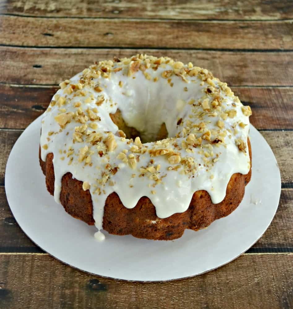 Dig into this tropical Hummingbird Cake made with bananas, pineapple, and pecans!