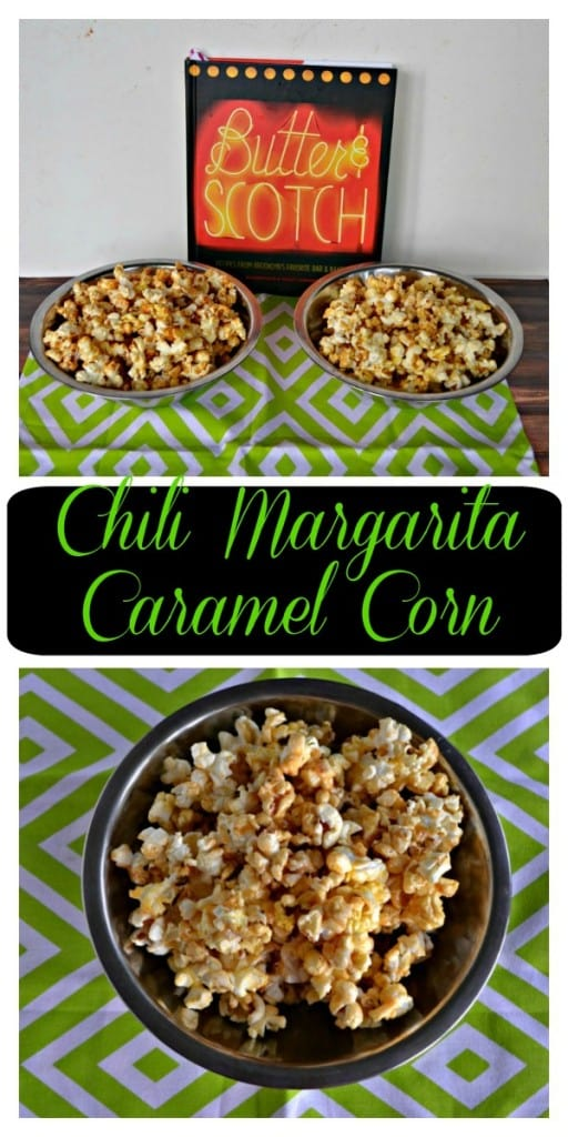 Need a sweet and salty holiday snack? I've got this sweet and spicy Chili Margarita Caramel Corn Recipe!