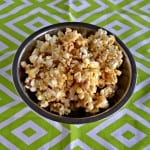 Sweet and spicy Chile Margarita Caramel Corn is a delicious holiday snack