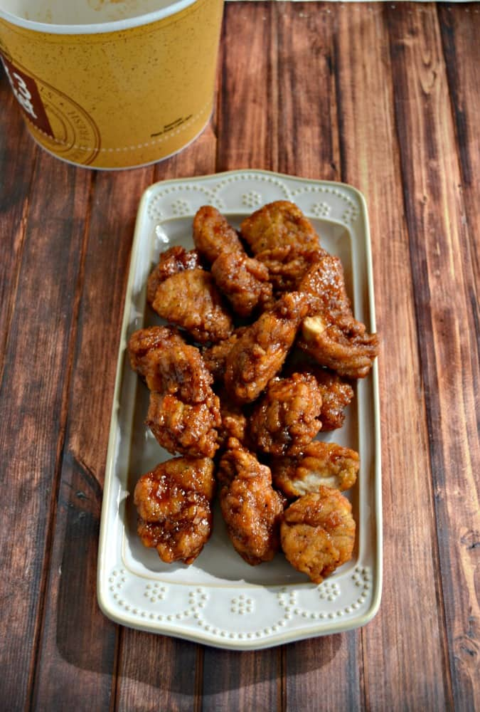 Get 20 wings for $10 at Walmart! It's a great Game Day deal!