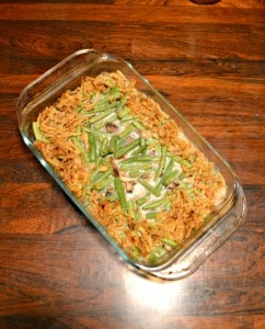 Make your own Homemade Green Bean Casserole perfect for a holiday side dish!