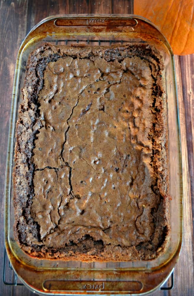 Leftover Candy Brownies