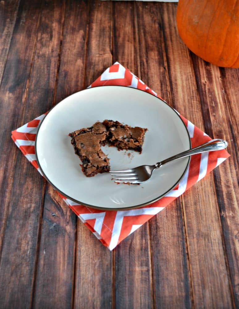 Grab a fork and dig into these amazing Leftover Candy Brownies!