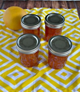 Peach Jam with Bourbon and Honey