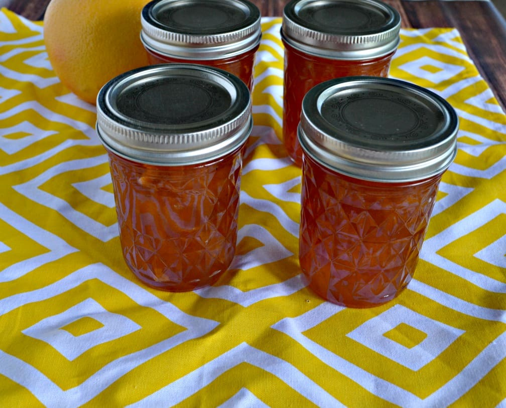 I love this Peach Jam with Bourbon and HOney