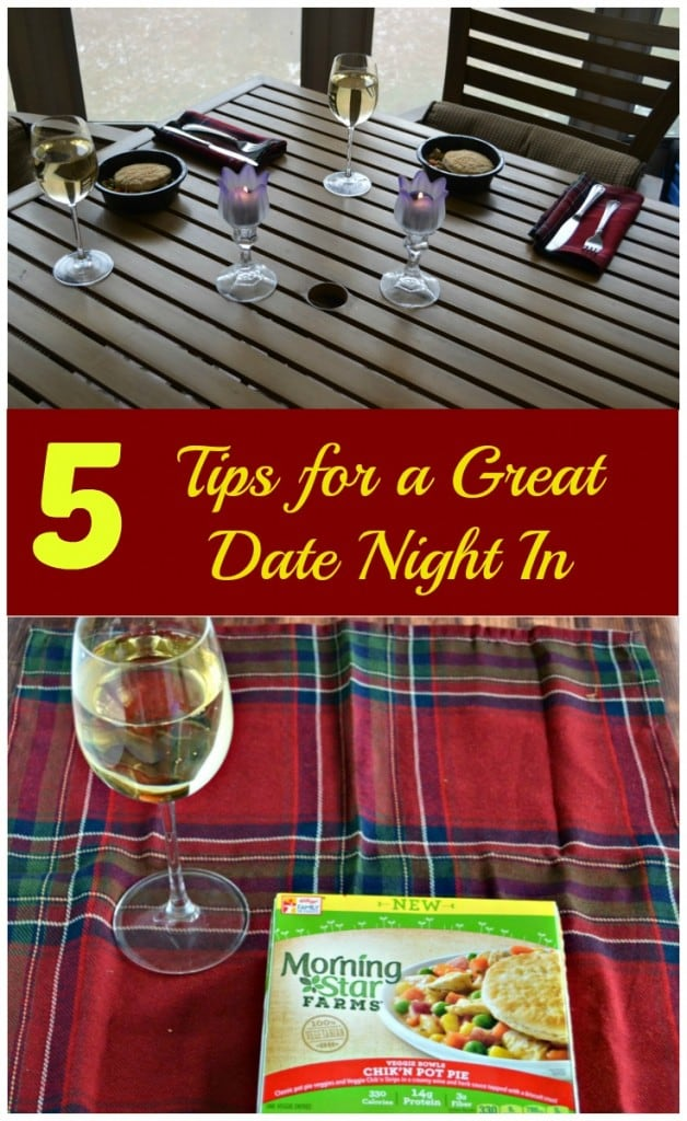 Don't have time to go out? Check out my 5 Tips for a Great Date Night In!