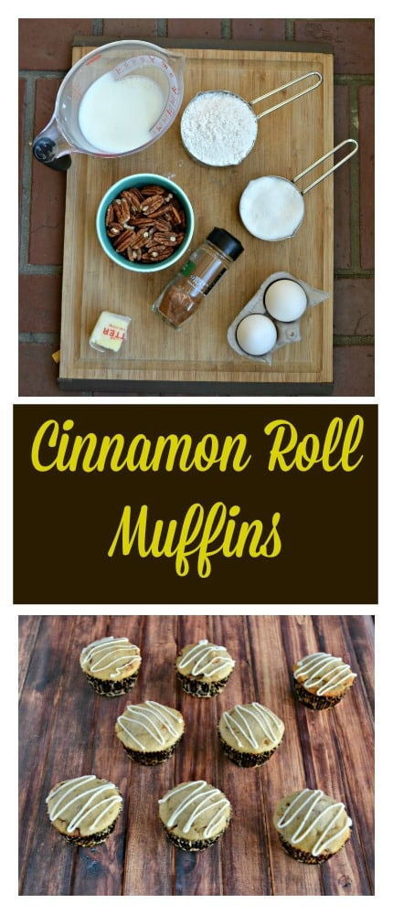 Need an easy breakfast? Try these delicious Cinnamon Roll Muffins for something different!